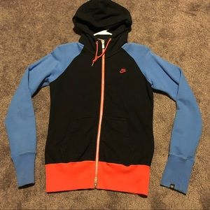 EUC! Retro Nike zip up hoodie